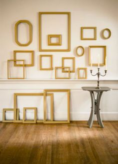 Decorating with FramesAn Empty frames and Wall decor