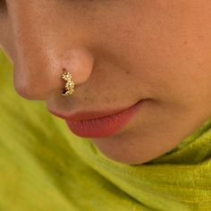 Cartilage Helix Minimalist Tribal Handmade Boho Piercing Jewelry