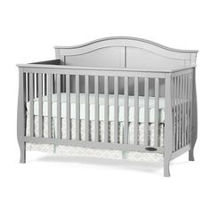 "Child Craft Camden 4-in-1 Convertible Crib - Cool Gray - Childcraft - Babies ""R"" Us"