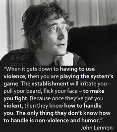 """[Quotes] """"When it gets down to..."""" - John Lennon. follow @dquocbuu like and repin it if you love it"""