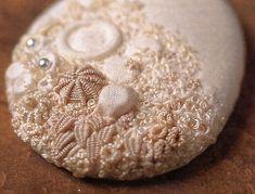 Embellished pebble