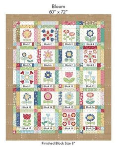 Free Bloom Sew-Along from Lori Holt - Diary of a Quilter - a quilt blog