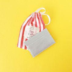 Womens credit card holder slim card holder wallet small