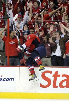 Front Row Season Tickets for the Capitals