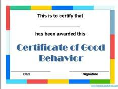 A Selection Of Free Printable Award Certificate Templates For Kids. No  Registration Required.