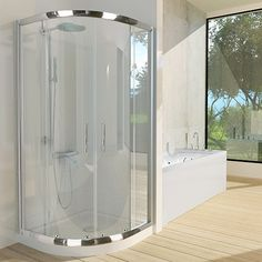 Dome Suite Curved Sliding 900 x 900mm - Pipers International