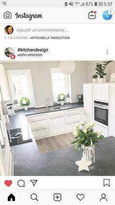 (notitle) – Kitchen decor ideas - Home Decor ideas Farmhouse Style Kitchen, Home Decor Kitchen, Kitchen Interior, Home Kitchens, Beautiful Kitchen Designs, Beautiful Kitchens, Home Decor Furniture, Kitchen Furniture, Luxury Kitchen Design