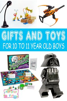 Best Gifts For 10 Year Old Boys. Lots of Ideas for 10th Birthday, Christmas and 10 to 11 Year Olds