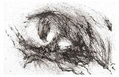 """-HUA TUNAN- 画图男 """"The goshawk"""" 墨破苍鹰-Ink on paper Eagle hit the sky, displaying a strong; raised looking forward to seriously reflect ideas shine!"""