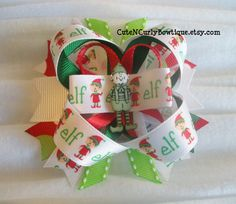 On Dec. 2nd, Amanda was our Sneak Attack sponsor and she found some amazing shops! Thanks, Amanda! ~~ Elf Christmas Hair bow Girls Red Green by CuteNCurlyBowtique, $7.50
