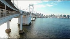 Cross the Rainbow Bridge on foot【東京・レインボーブリッジ】