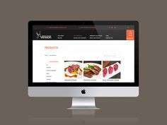 Viewing products on the new Holme Farmed Venison website | Designed by Label Media in Leeds