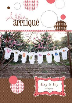 New Children Applique Pattern