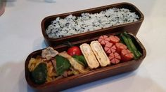 posted by @hiroko_13d 今日のお弁当ワカメご飯回鍋肉玉子焼きお花ウインナー野沢菜#お弁当...
