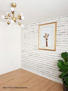 Accent Wallpaper, Diy Wallpaper, White Wallpaper, Wallpaper For Walls, Painting Wallpaper, Trendy Wallpaper, Diy Wand, Diy Tapete, Kindergarten Wallpaper