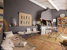 Plus de 1000 id es propos de d co campagne country decor sur pinterest - Interieur mas provencal ...