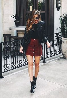 date night outfit Winter Date Night Outfits fr diese Saison, Fashion Night, Look Fashion, Fashion Outfits, Fashion Ideas, Skirt Fashion, Womens Fashion, Street Fashion, Fashion Trends, Feminine Fashion