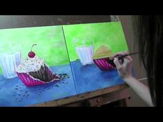 Paint With Me Tutorials!  Step-by-step directions on how to paint each subject in acrylics.  These are great for hosting a painting party in the comfort of your house!!!