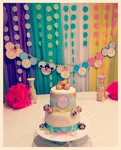 Disney Tsum Tsum Themed Cake