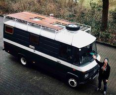 937 Likes, 84 Comments - vanlife Mercedes Camper, Mercedes 508, Van Interior, Camper Interior, Diy Camper, Motorhome, Trailers Camping, Camper Van Life, 4x4 Camper Van