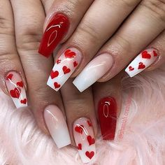 This series deals with many common and very painful conditions, which can spoil the appearance of your nails. But for you, nail technicians, this is not a problem! SPLIT NAILS What is it about ? Nails are composed of several… Continue Reading → Heart Nail Designs, Valentine's Day Nail Designs, Simple Nail Designs, Acrylic Nail Designs, Best Nail Art Designs, Nails Design, Holiday Nail Designs, Cute Acrylic Nails, Cute Nails