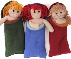 Crochet Patterns Sleeping Bag Sleeping bags for yarn dolls Morehouse Merino Original Patterns for Leftover Yar. Crochet Toys, Knit Crochet, Yarn Dolls, Soft Plastic, Beard No Mustache, Sleepover, Crochet Patterns, Crochet Ideas, Doll Clothes