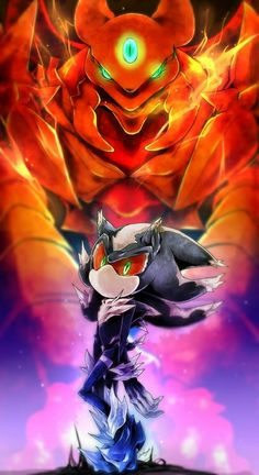"""Mephiles...Iblis..... Should Sega bring back Memphiles the Dark as another villain anytime soon? For me: """"Yes, please!"""""""