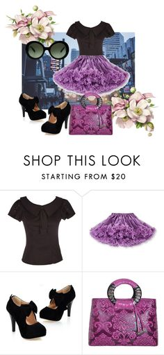 """""""Celebrate good times"""" by theladyintheblackdress ❤ liked on Polyvore featuring WithChic, Prada and party"""
