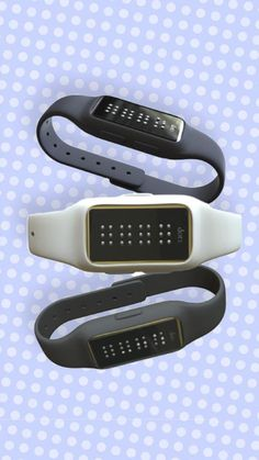 The Dot is a tiny wearable with perforated holes to deliver messages in braille