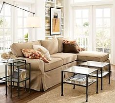 Family Room And Living Room Furniture | Pottery Barn