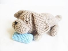 Looking for your next project? You're going to love Sleepy Doggie Amigurumi  by designer Ahmaymet.