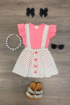 Baby First Outfit Casual 46 Best Ideas Girls Fashion Clothes, Baby Girl Fashion, Toddler Fashion, Kids Fashion, Fashion Outfits, Fashion 2015, Dresses Kids Girl, Kids Outfits, Cute Outfits