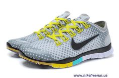 e60702e30df7 Cheap Mens Nike Free Tr Fit Grey Black Yellow Training Shoes Nike Shoes  Cheap