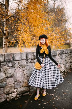 A Clothes Horse Outfit: Modern Audrey