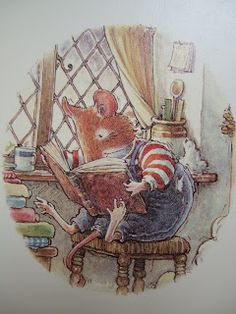 Anything that inspires the imagination and reading is a winner in my book. Little Dream Girl: Brambly Hedge Art And Illustration, Book Illustrations, Brambly Hedge, Pet Mice, Beatrix Potter, Hedges, Vintage Art, Illustrators, Book Art