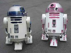 24. A pink R2 unit called R2-KT makes an appearance in The Force Awakens.
