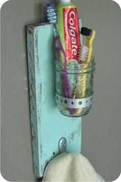 porta trecos para o banheiro