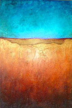 Peaceful Interlude an original abstract painting