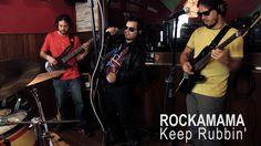 ROCKAMAMA - KEEP RUBBIN' - Live at Basic Tapes Studio #BasicTapes #duelodebandas