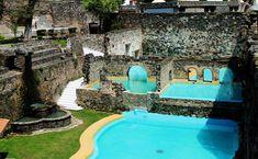 Santa María Regla: duerme en una hacienda minera en Hidalgo Country Codes, Santa Maria, Location History, Ireland, Club, Outdoor Decor, Wedding, Tourism, Suspension Bridge