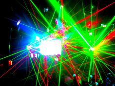 flashy lights!
