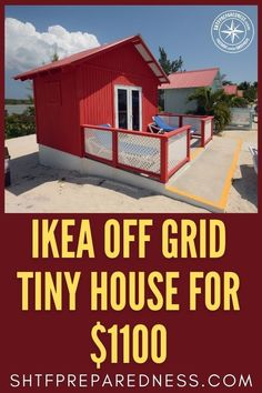 Considering buying an off-grid tiny house? SHTFPreparedness recommends IKEA. If you are still on the fence about making this move check out our report that tells you why you want to make this move. There are so many benefits and hardly any downside for numerous reasons. At $1,100 you really can't go wrong from an economic position. We answer most questions you may have about an IKEA tiny house. Get the full details here. #ideatinyhouse #offgrid #tinyhouse