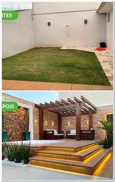 Outdoor Spaces, Outdoor Living, Outdoor Decor, Pergola, Backyard Pool Designs, Beautiful Living Rooms, Outdoor Structures, House Design, Home