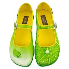 Hot Chocolate Design Chocolaticas Lemon Women's Mary Jane Flat