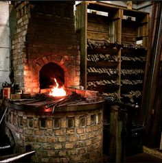 Handmade by a 25-year-old master craftsman, these axes, knives, and hammers are…