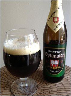 Spaten Optimator, Doppelbock, German Beer, Bier, Lager