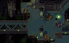 Tower57 devlog, 2D twin-stick arcade in the vein of The Chaos Engine