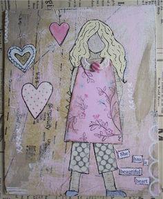 She Art Girl #2 by speckled-egg, via Flickr