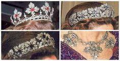 british royal family jewels | Belgium: The Spanish Wedding Gift Tiara