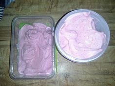 Homemade blender ice cream. 10 oz any frozen fruit 1/2 cup sugar or splenda and 2/3 cup fat free half and half. Its so good and very healthy